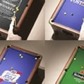 Different Logos on pool tables